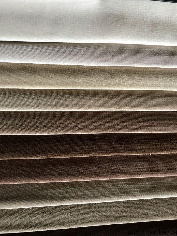 водоотталкивающая ткань для мебели solo velvet