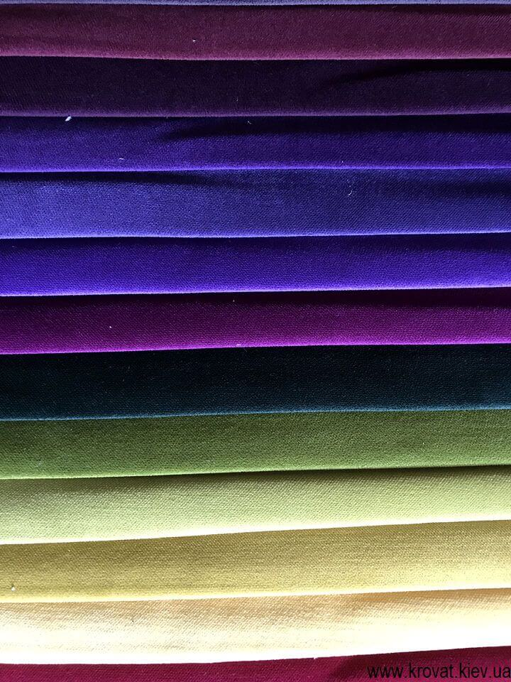 водоотталкивающая ткань solo velvet