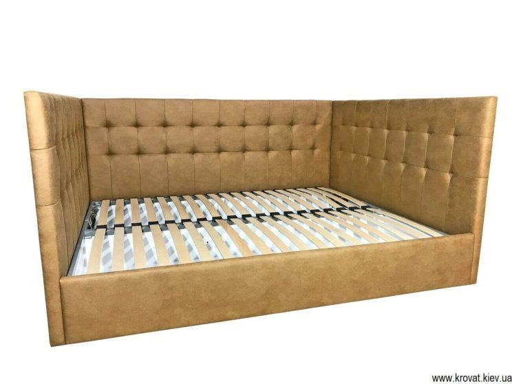 ліжко з трьома спинками для дорослих
