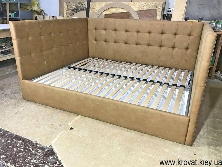 кровать с П образной спинкой на заказ