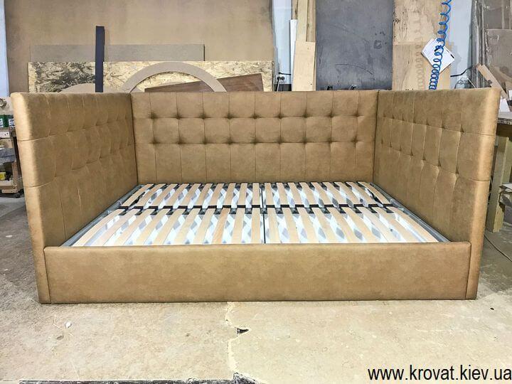 двуспальная кровать с нишей на заказ