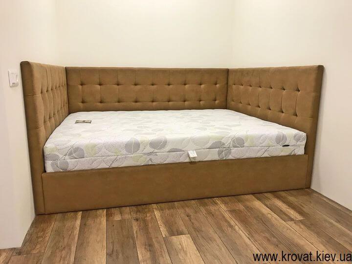 кровать с тремя спинками для взрослых на заказ