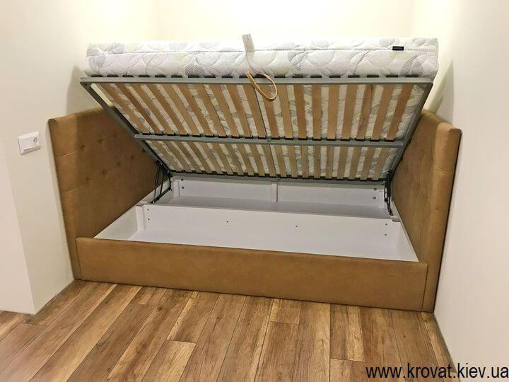 кровать в нишу с подъемным механизмом на заказ