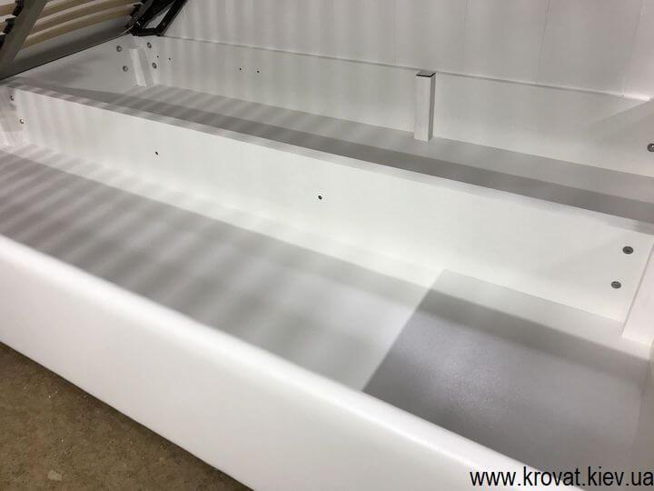 подростковая кровать с нишей для белья на заказ