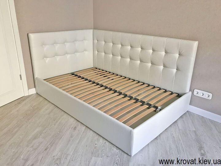 кровать для подростка в интерьере спальни на заказ