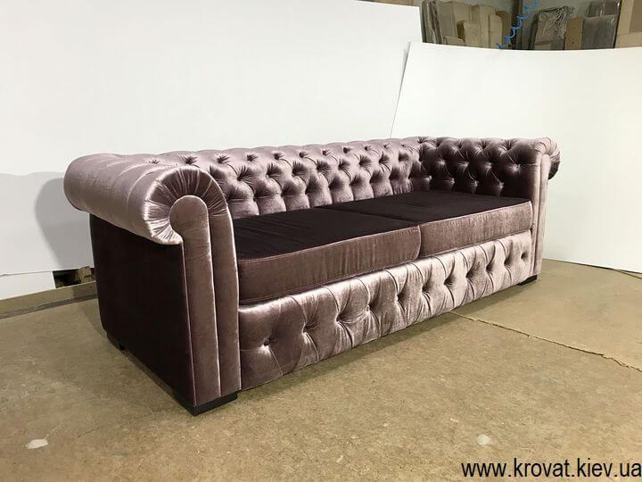 диван Честер для офісу в тканині на замовлення