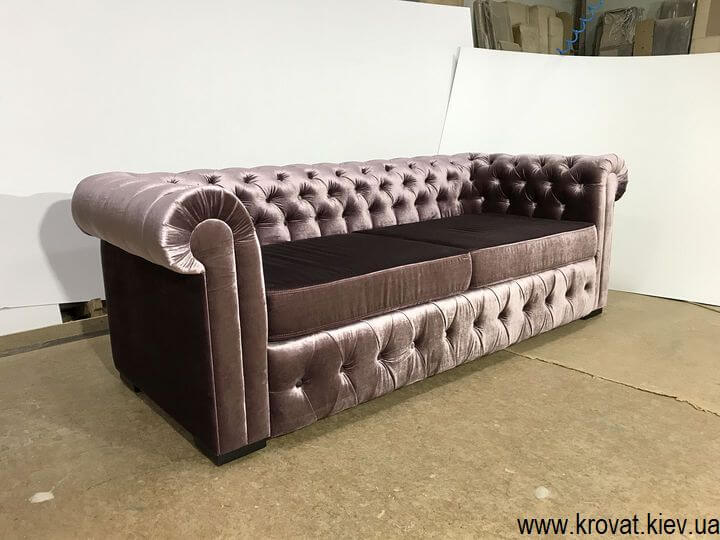 диван Честер для офиса в ткани на заказ