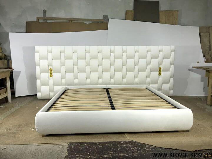 елітна ліжко з широким узголів'ям на замовлення