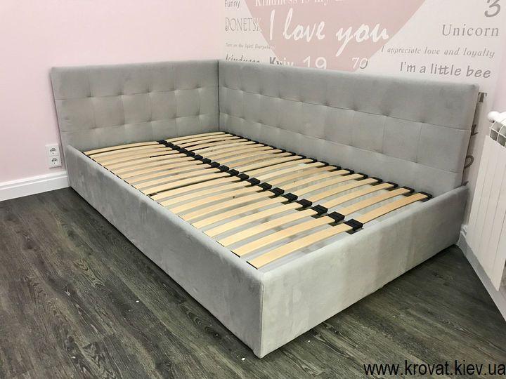 ліжко для дівчинки 10 років в інтер'єрі дитячої спальні