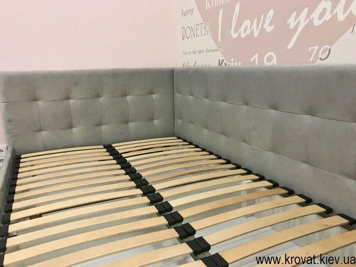 полуторне підліткове ліжко для дівчинки на замовлення