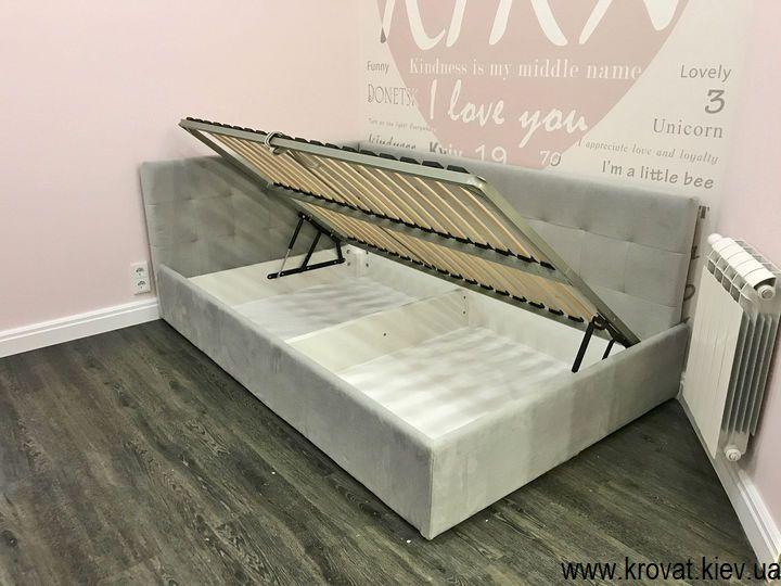 ліжко для дівчинки з підйомним механізмом на замовлення