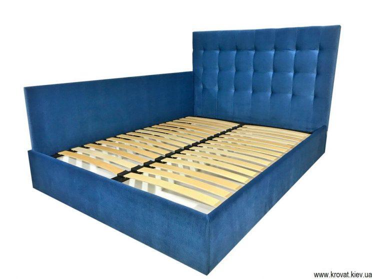 ліжко зі спинкою збоку
