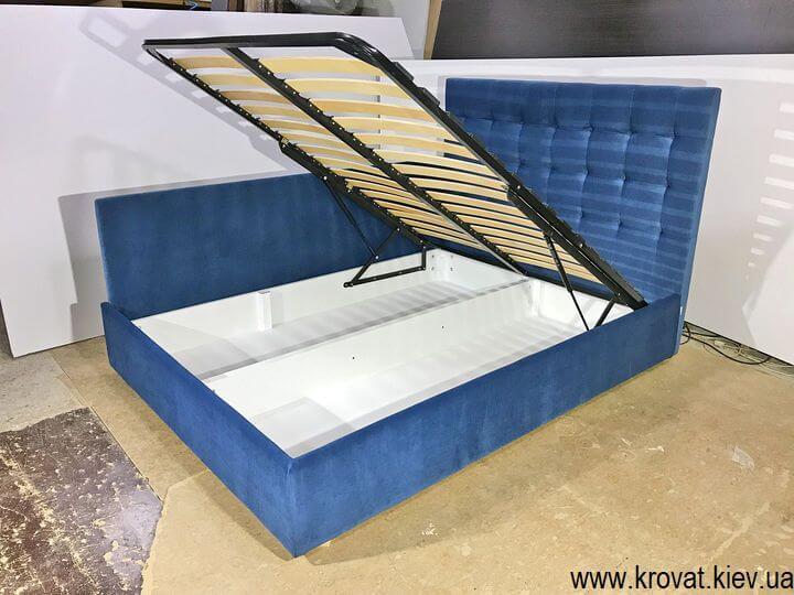 угловая кровать с подъемным механизмом на заказ
