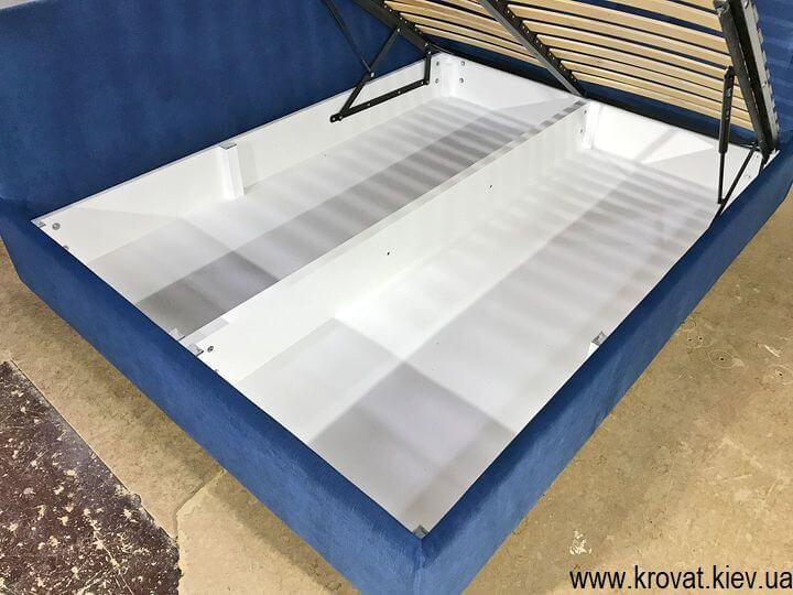 ліжко з нішею для білизни на замовлення