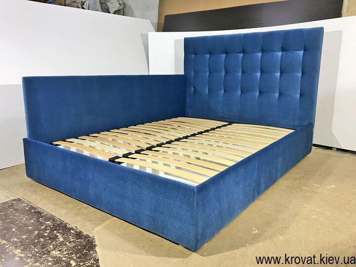 кровать со спинкой сбоку на заказ