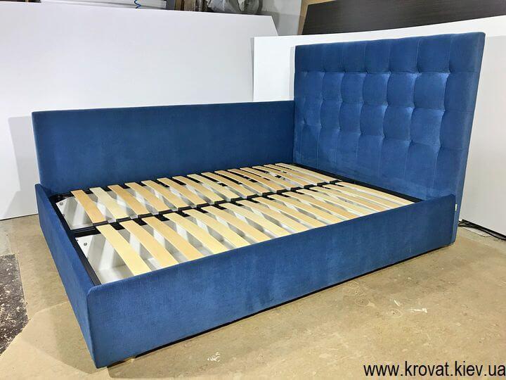двоспальне ліжко зі спинкою збоку на замовлення