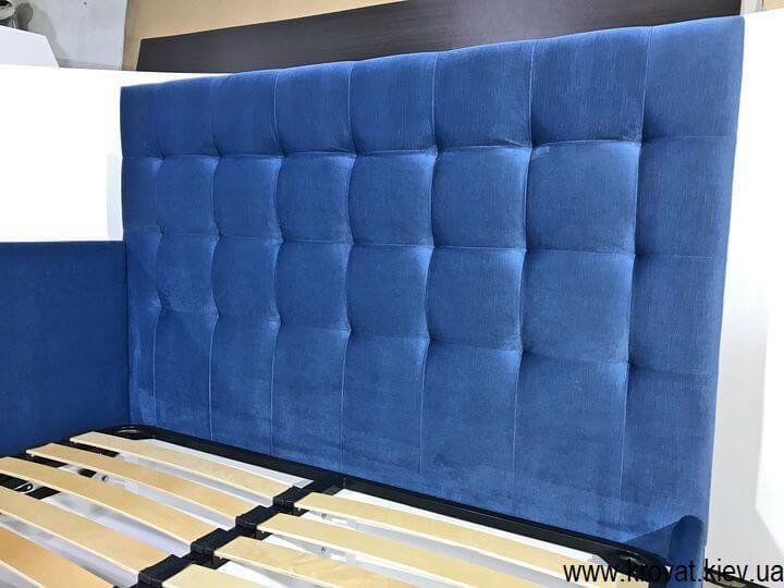 кровать с двойной спинкой на заказ