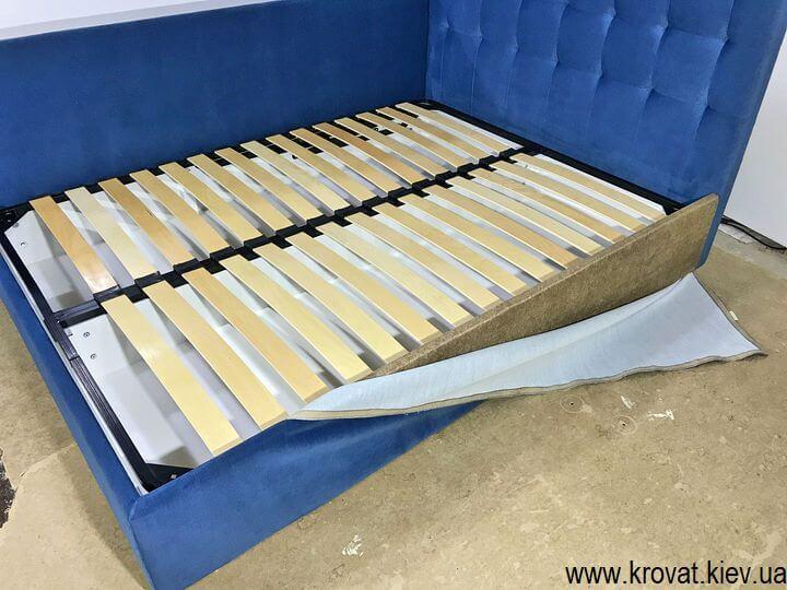 кровати со спинкой сбоку на заказ