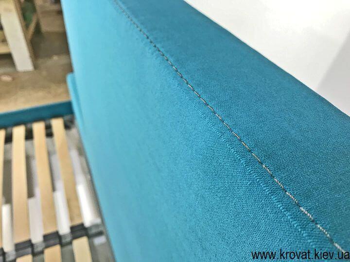 кровать из ткани производства Бельгия на заказ
