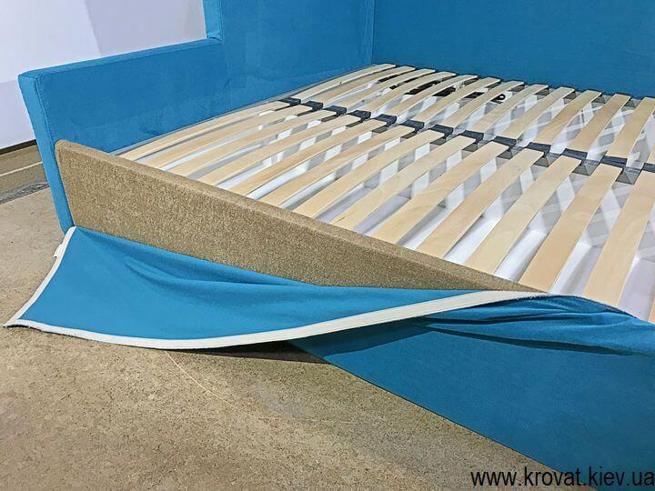 угловые кровати с механизмом подъема матраса на заказ