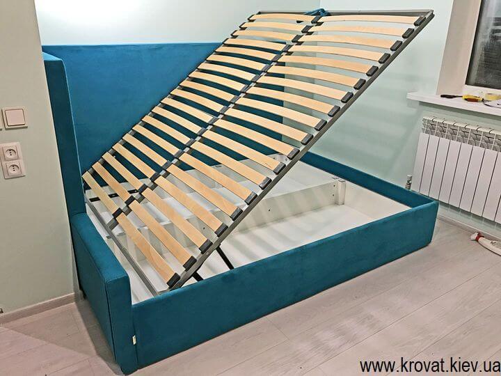 кутове ліжко з підйомним механізмом на замовлення