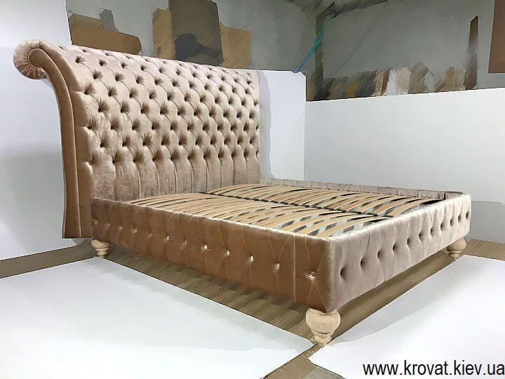класичне 2х спальне ліжко Італія на замовлення