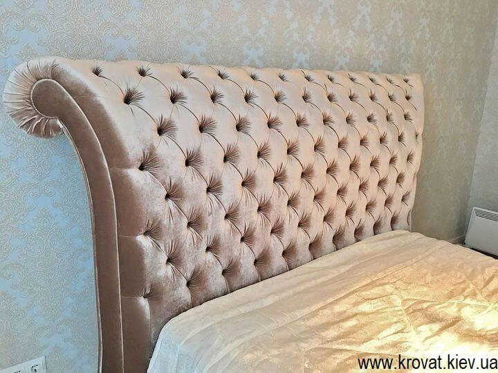 классическая двуспальная кровать Италия на заказ