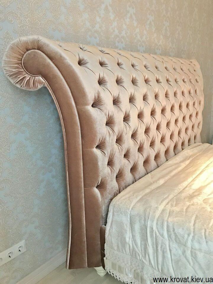 двоспальне ліжко Італія в класичному стилі на замовлення