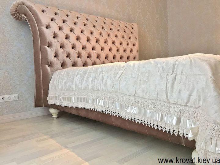 елітна двоспальне ліжко Італія на замовлення