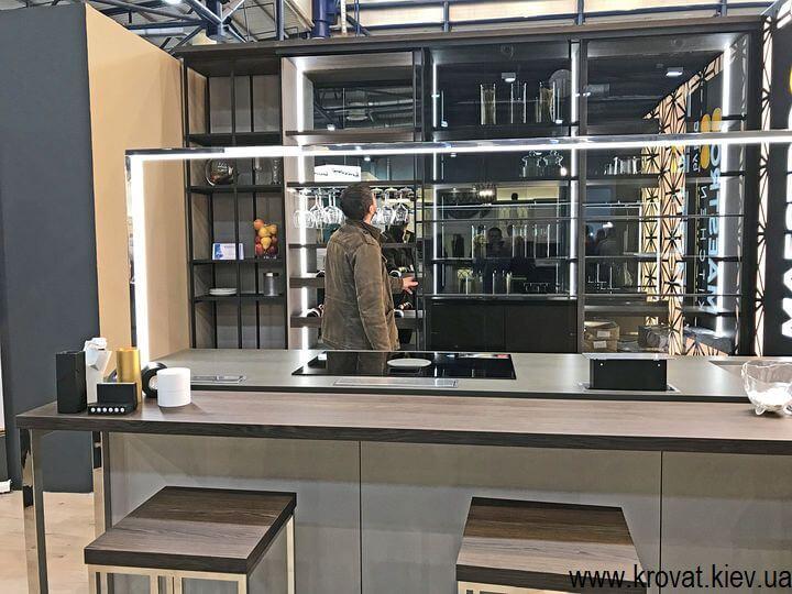 современные кухни на мебельной выставке в Киеве
