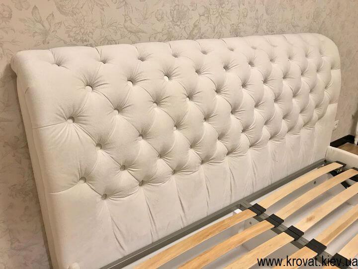 классическая кровать без изножья на заказ