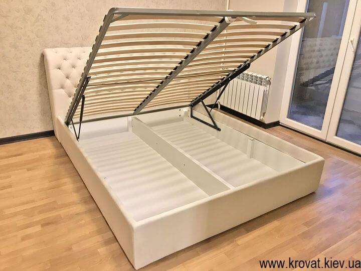 кровать без изножья с подъемным механизмом на заказ
