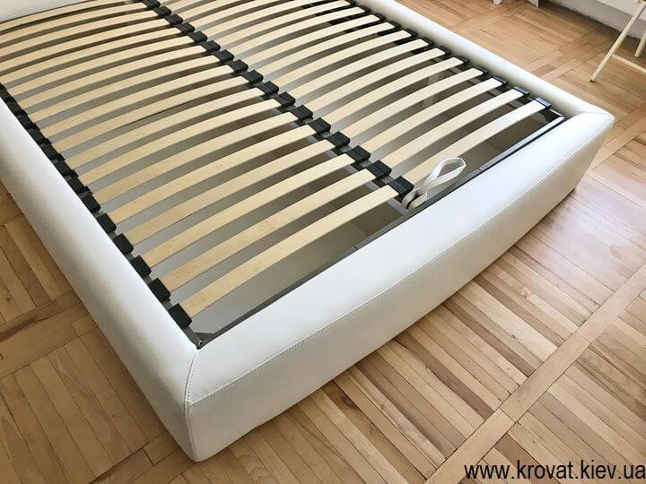 ортопедическая кровать со стеновой панелью на заказ