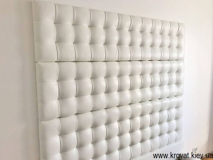 кровать с панелью на заказ