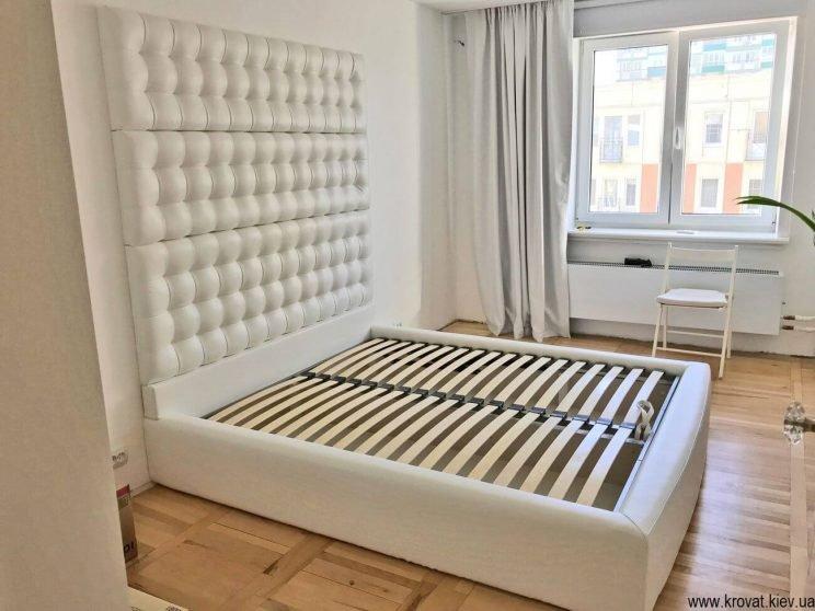 кровать со стеновой панелью на заказ