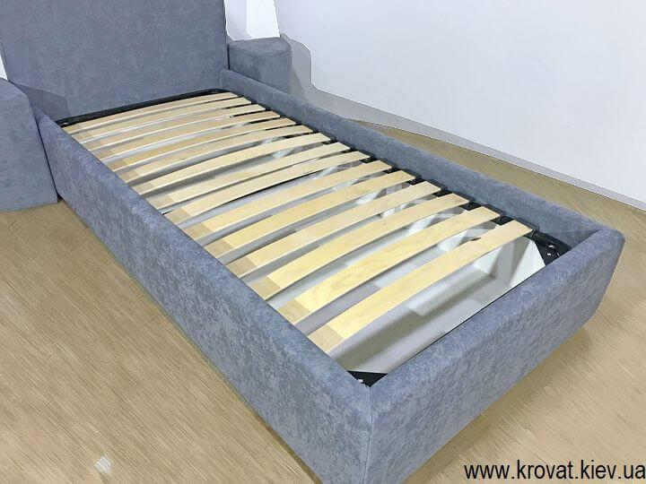 изготовление односпальных кроватей на заказ