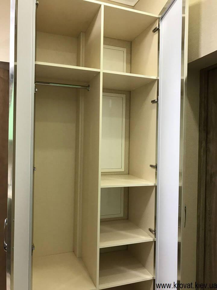 маленький шкаф в прихожую с зеркалом на заказ