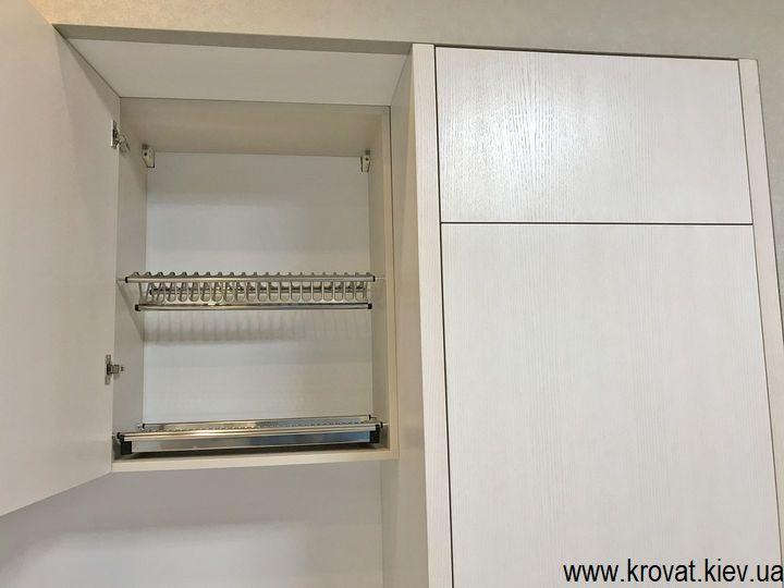 шпонированные кухни на заказ