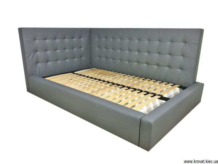 угловая подростковая кровать