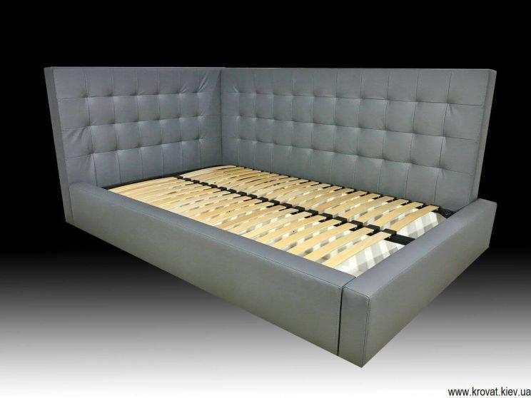 угловая подростковая кровать на заказ