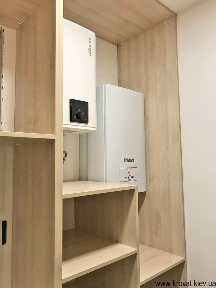 встроенная гардеробная комната в квартире на заказ