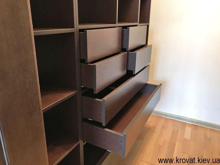 шкафы в гардеробную комнату на заказ