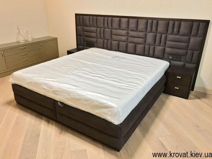 велике ліжко в спальню на замовлення