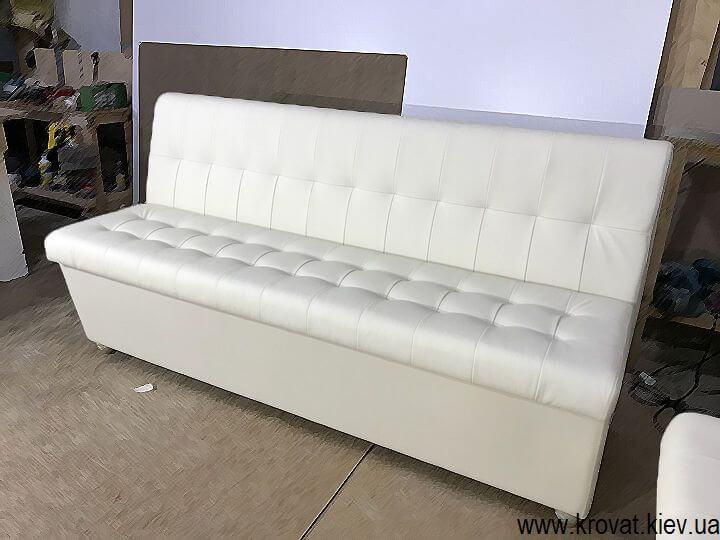 мягкий кухонный диван на заказ