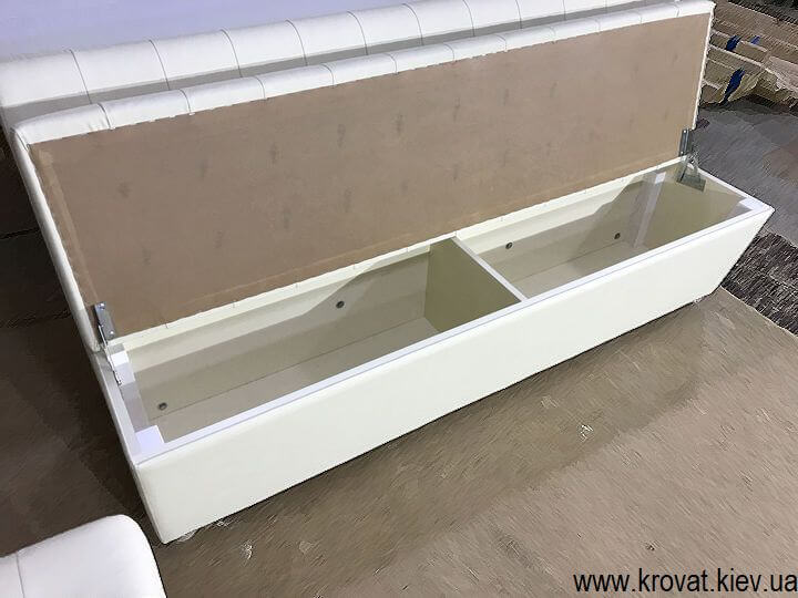кухонный диван с открывающимся ящиком на заказ