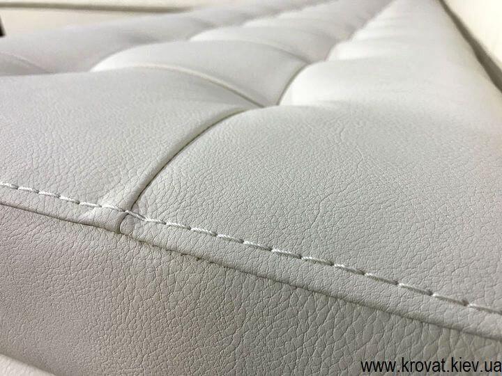 кухонный диван в кожзаме на заказ