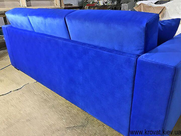 угловой диван маленьких габаритов на заказ