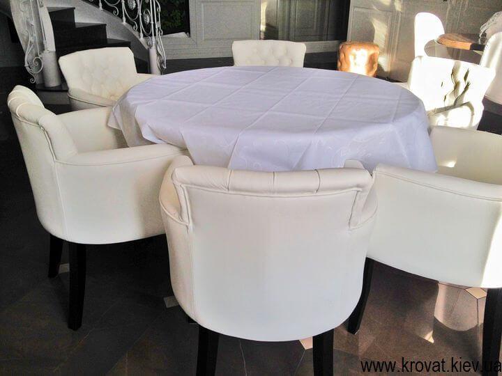 кожаные кресла для дома на заказ