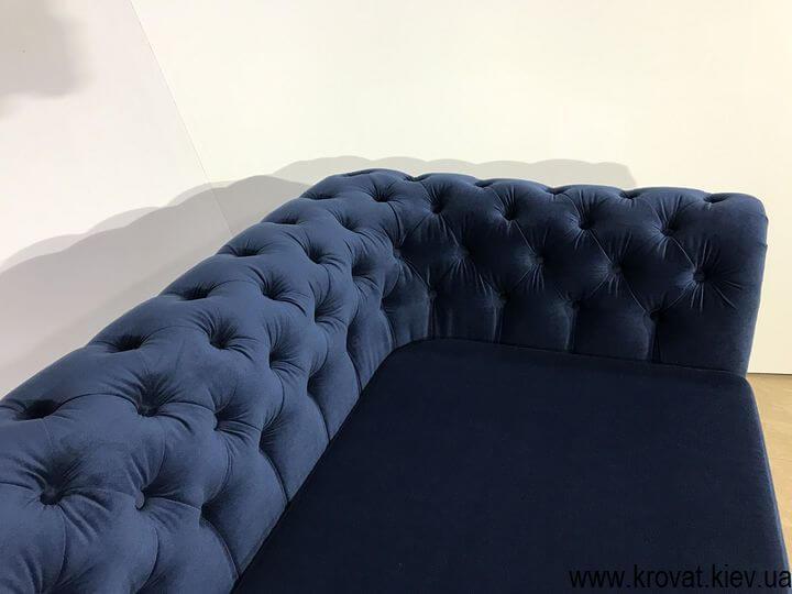 диван честер в ткани на заказ