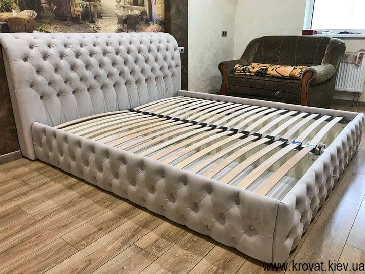 двуспальная кровать в спальню на заказ